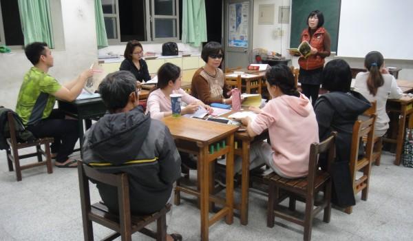 臺中市海區新住民學習中心(德化國小)107年度第二期新住民識字專班