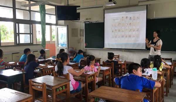 臺中市海區新住民中心(德化國小)107年度新住民子女生活母語學習