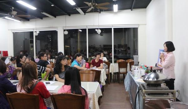 臺中市海區新住民中心(德化國小)107年度簡易烹飪研習