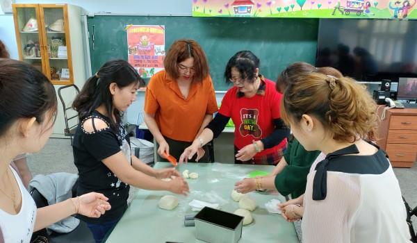 108年臺中市山區新住民學習中心(中山國小)-創意烘焙課程