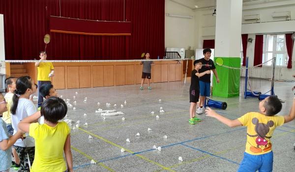 108年臺中市山區新住民學習中心(中山國小)-羽球學習班