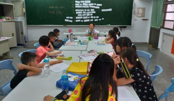 108年度屯區新住民學習中心(東平國小)語文學習課程:越南母語班+基礎美語班