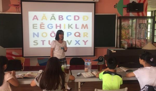 108年度臺中市立大道國民中學新住民學習中心實用越南語課程