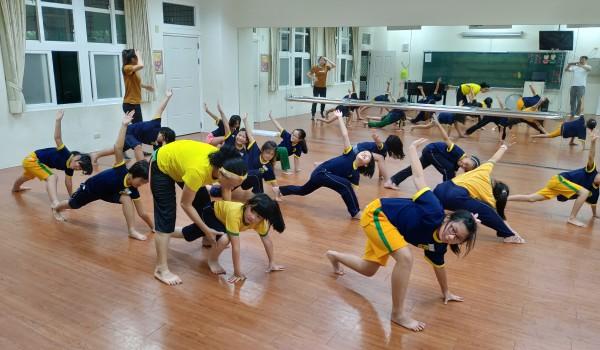 108年臺中市山區新住民學習中心(中山國小)-成人舞蹈及兒童舞蹈班