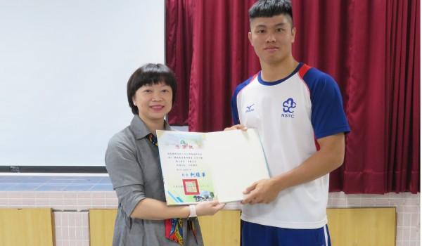 108年度總統教育獎學生分享活動(大道國中)