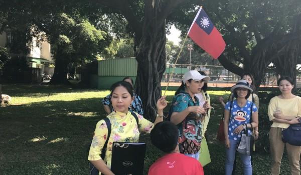 109年度新住民新南向產業人才培力-第二梯次觀光導覽實務訓練課程